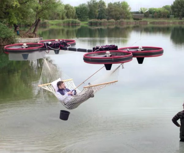 Let's Make Drone-powered Hammocks a Reality