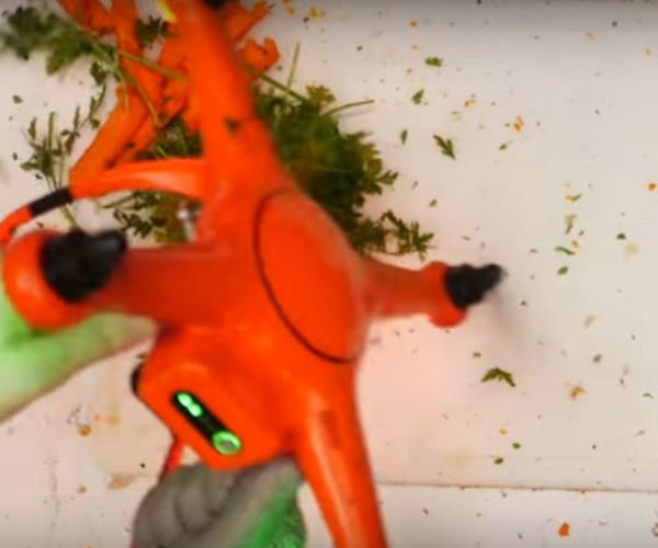 A Drone Makes Thanksgiving Dinner
