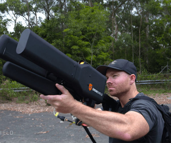 DroneGun Knocks Drones out of the Sky