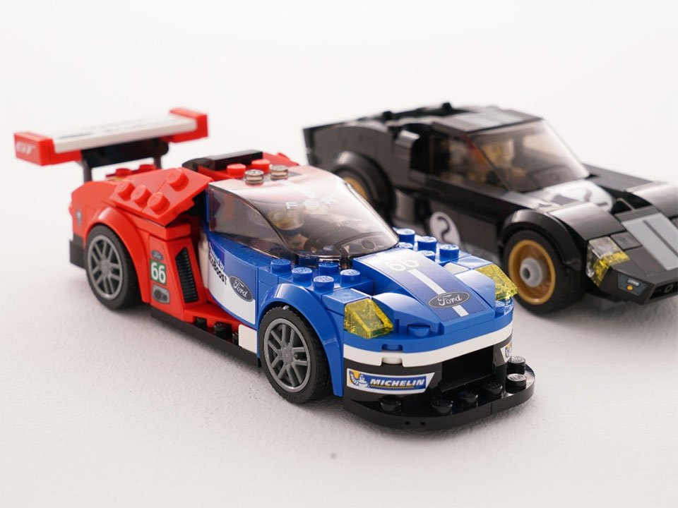 LEGO Speed Champions Set Includes Ford GT40 and Ford GT - Technabob