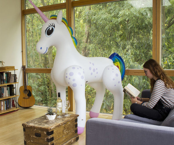 Every House Needs a Giant Inflatable Unicorn