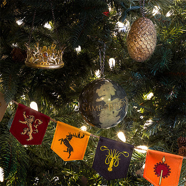 Game of Thrones Dragon Egg Ornaments: GoT Cheer?