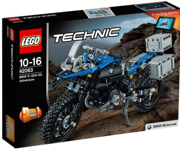 LEGO Technic BMW R 1200 GS is an Adventure Brick