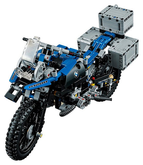 lego technic bmw r 1200 gs is an adventure brick technabob. Black Bedroom Furniture Sets. Home Design Ideas