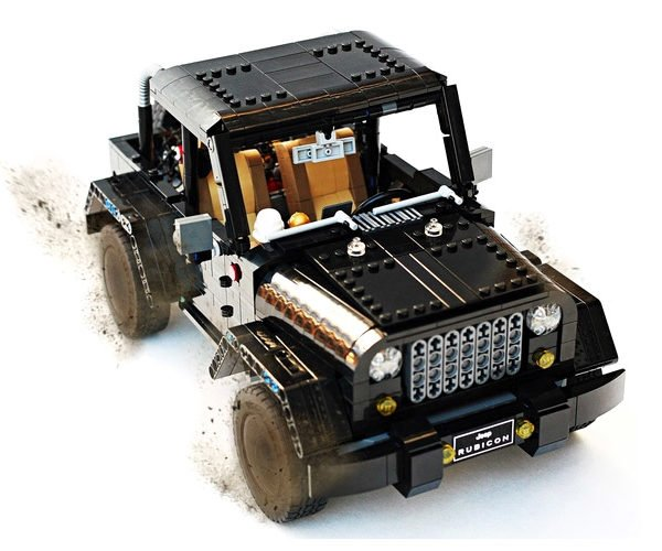 LEGO Jeep Wrangler Rubicon: A Block Made of Blocks