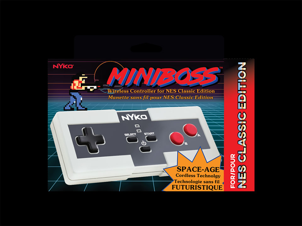 Nyko Miniboss for NES Classic Edition Don't Need No Stinkin' Wires - Technabob
