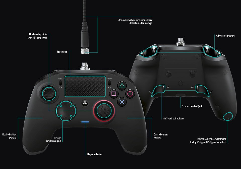Sony Pro Gaming Ps4 Controllers Coming Technabob