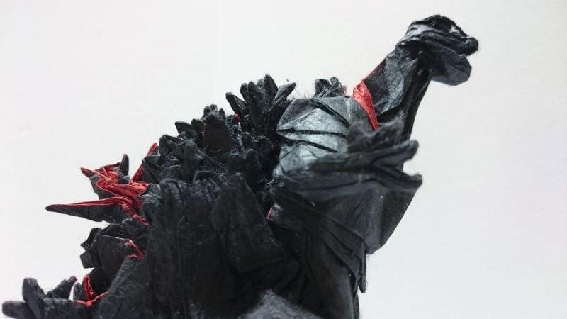 godzilla is the king of origami technabob