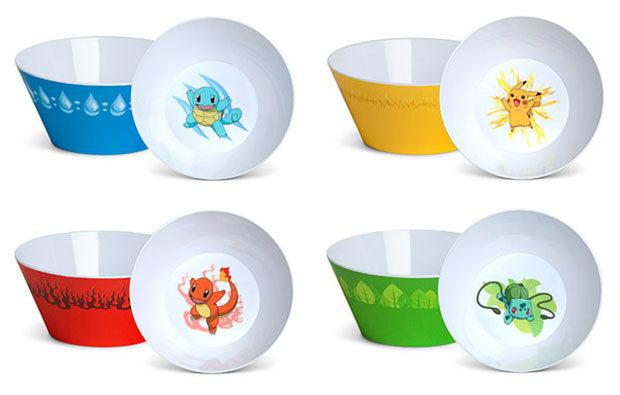 Pok 233 Mon Cereal Bowl Set Cap N Crunch I Choose You
