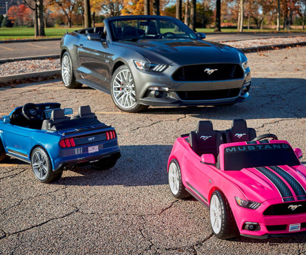 New Power Wheels Mustangs Get Traction Control