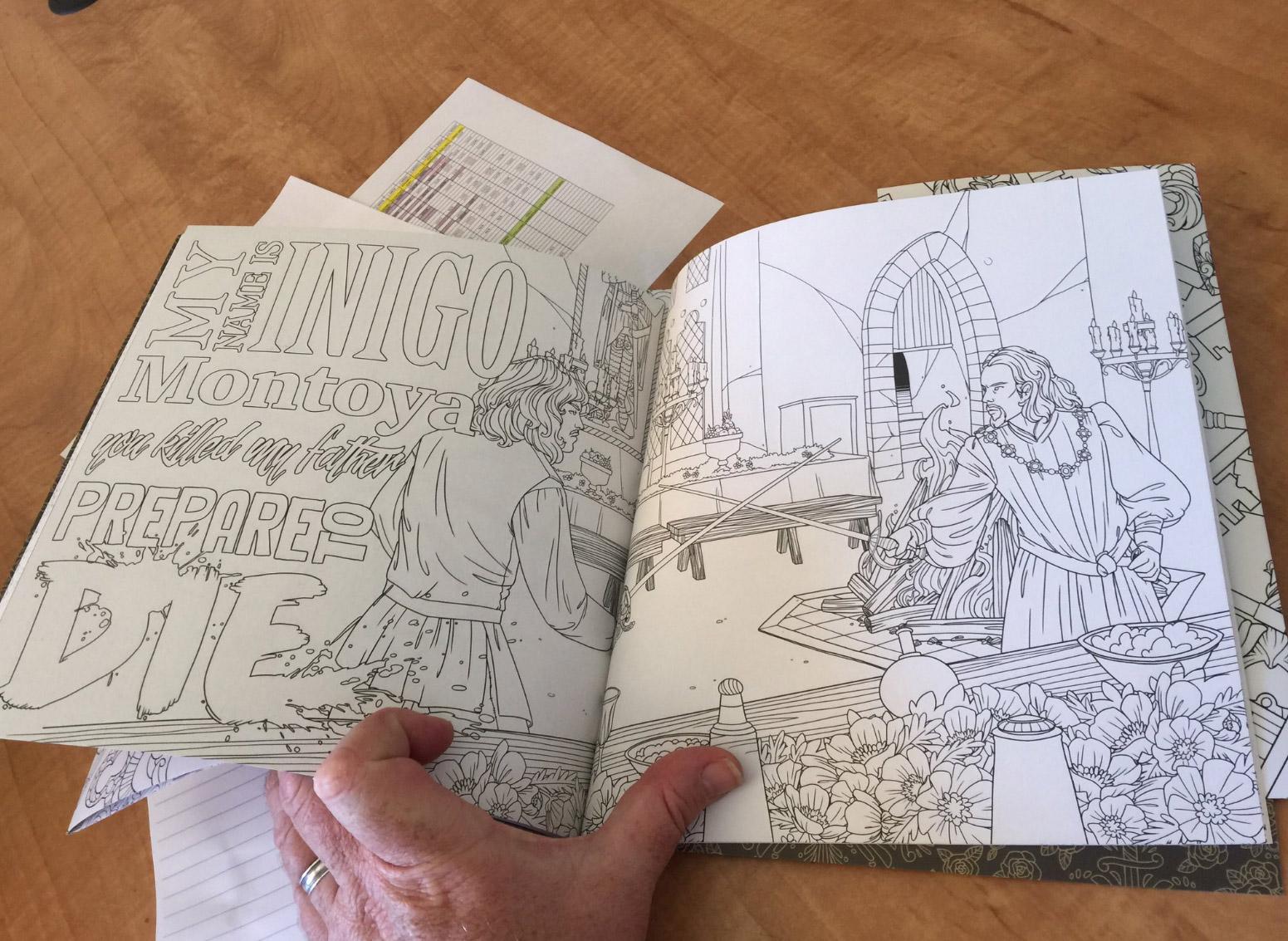 amazon princess bride coloring book