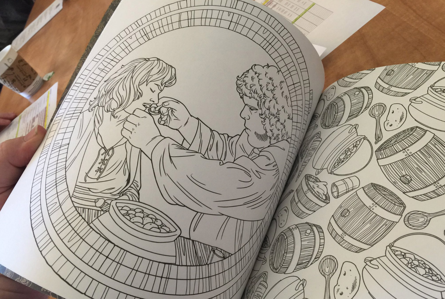 The princess bride coloring book will brighten your pit of for Princess bride coloring pages