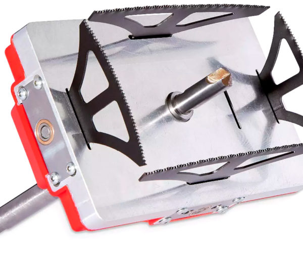 The Quadsaw Lets Your Drill Cut a Square Hole