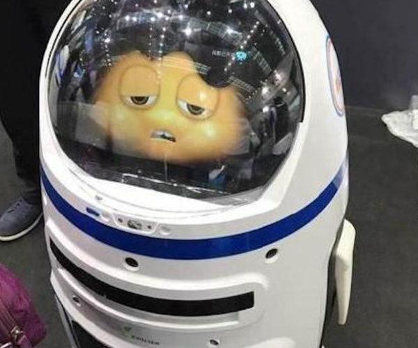 Errant Robot Injures Human