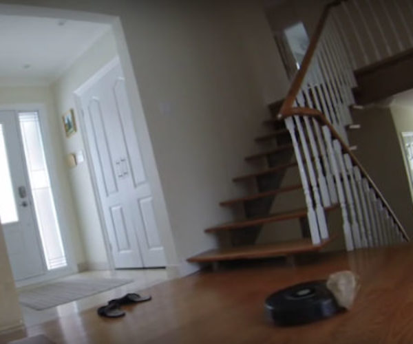 Roomba Caught in a Plastic Bag Commits Suicide