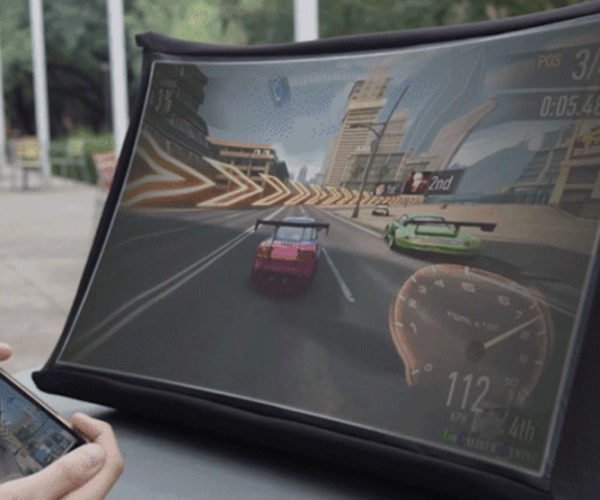 Pop-Up SPUD Screen Lets You Carry a 24″ Monitor Anywhere