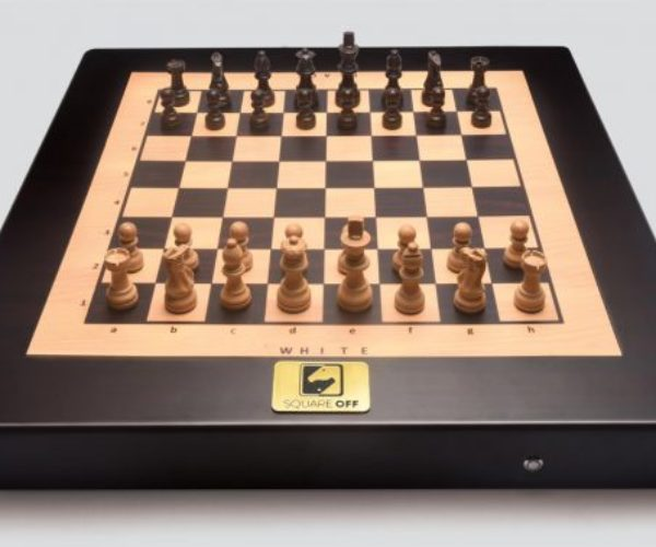 Square Off Automated Chess Board Moves Pieces from Across the Planet