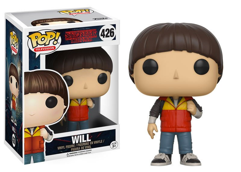 stranger things pop vinyl figures include eleven with. Black Bedroom Furniture Sets. Home Design Ideas