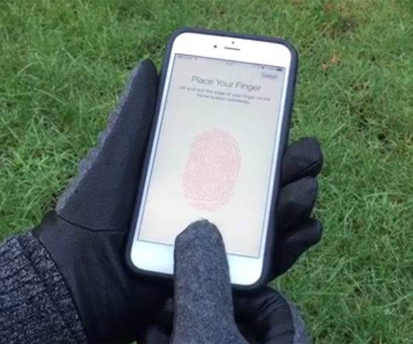 TAPS Stickers Give Your Gloves a Fingerprint