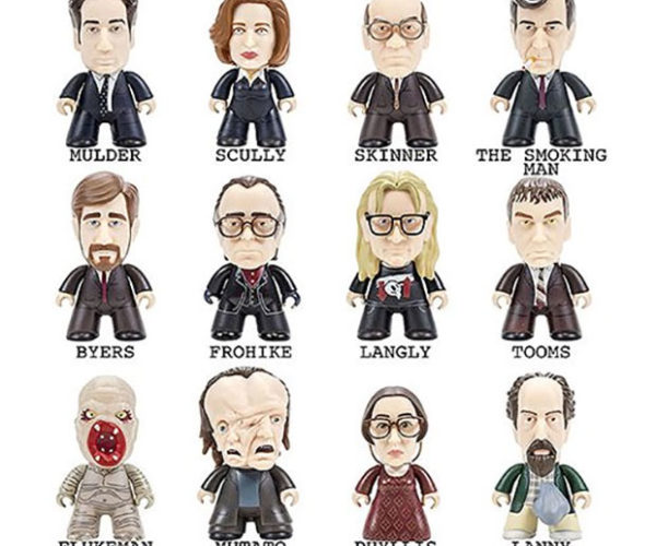 X-Files Titans Mini-figures: The Toys Are out There