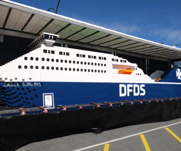 World's Largest LEGO Ship Made from Over 1 Million Bricks