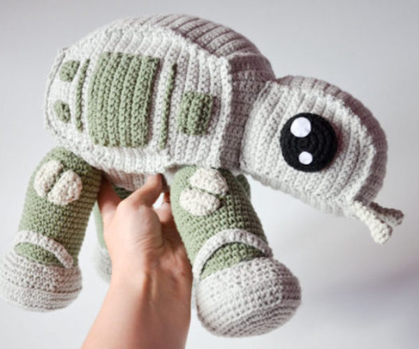 The Crochet AT-AT Strikes Back