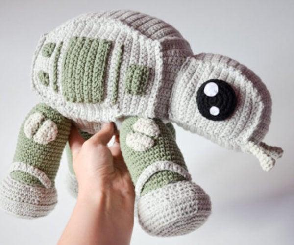 The Crochet AT-AT Strikes Back