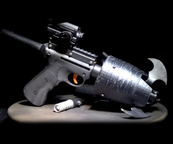 Guy Builds Working Version of Batman's Grappling Hook Gun