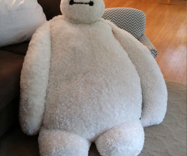 Baymax Pillow Chair: On a Cuteness Scale from 1 to 10, He's an 11