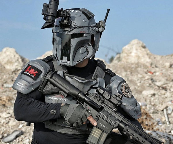 Boba Fett Ballistic Armor: Mandalorian Protection