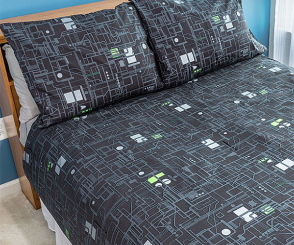 Borg Cube Bedding: Resisting Sleep is Futile