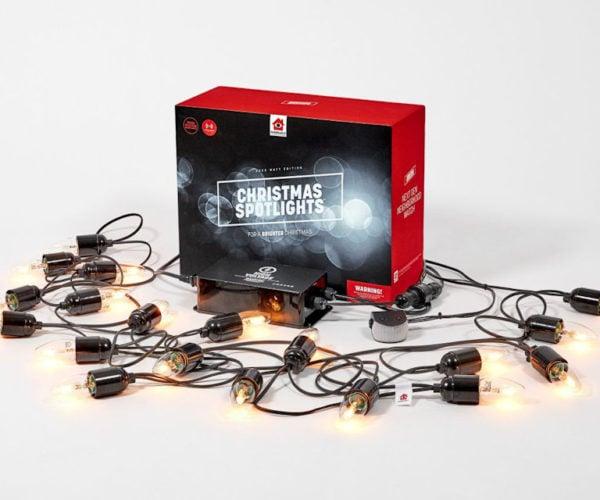 These Christmas Lights Deter Burglars