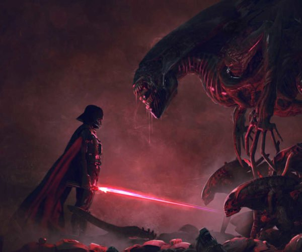 Darth Vader vs. Aliens Would Be an Awesome Flick