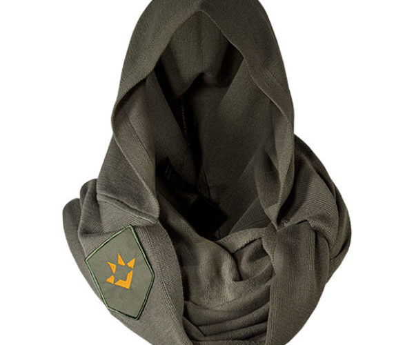 Destiny Hunter Cape Scarf is a Manly as Scarves Get