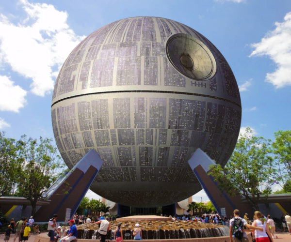 Epcot Spaceship Earth to Become the Death Star