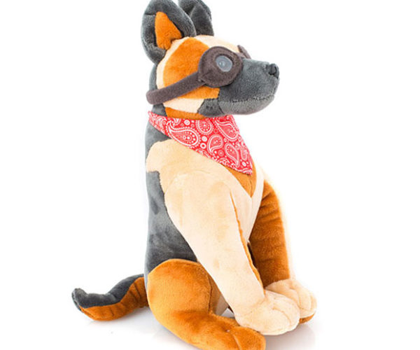 Dogmeat Plush Won't Step in Front of Your Minigun
