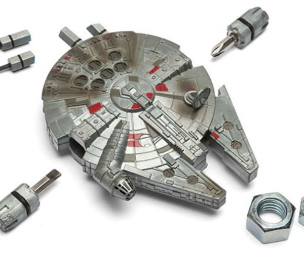Millennium Falcon Multitool Locks Down Auxiliary Power