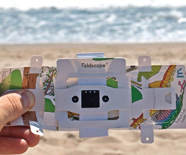 Foldscope Is a 140x Microscope That Fits in Your Pocket
