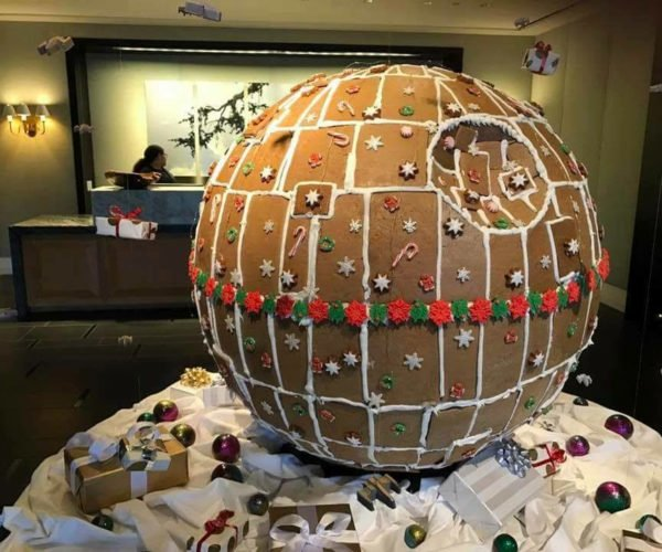 Death Star Gingerbread House: The Ultimate Power in the Bakery