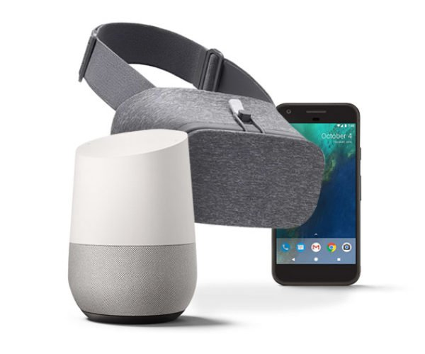 Win a Google Pixel, Google Home and Daydream View!