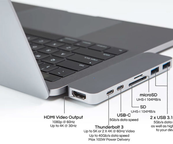 HyperDrive Fixes MacBook Pro's Lack of Connectivity