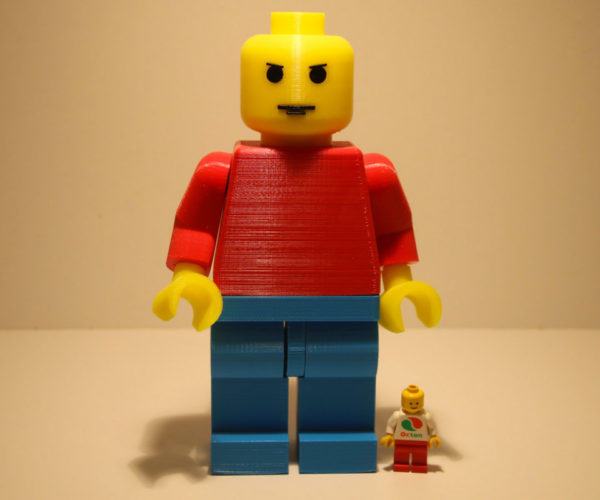 7″ Tall LEGO Minifigs: Maxifigs