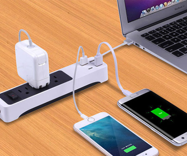 Deal: Save 28% on The Kinkoo 3-Outlet Surge Protecting Smart Power Strip