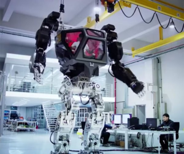 This Life-size Mech Actually Works