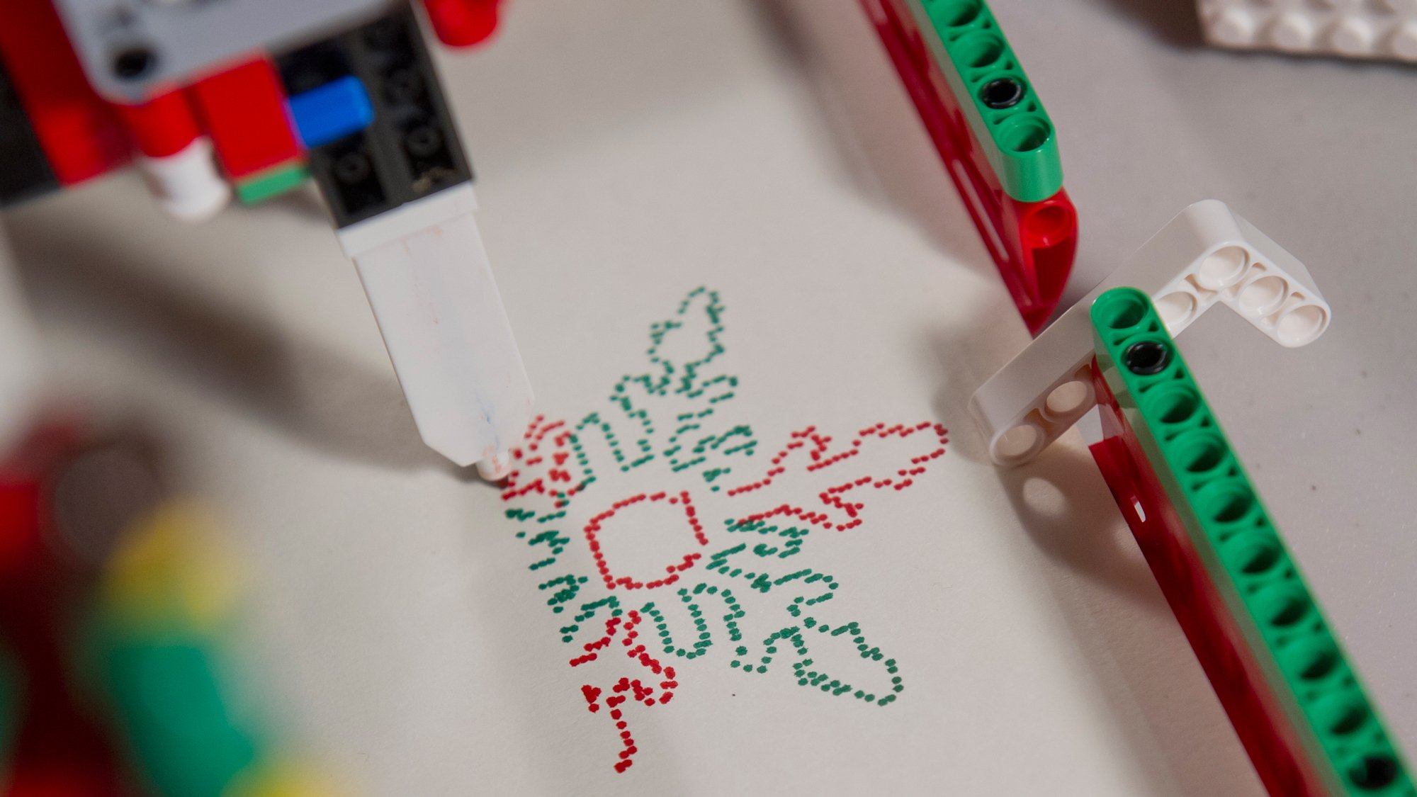 this machine churns out christmas cards like an elf churns out toys it was designed and built by 14 year old sanjay seshan and his 12 year old brother - Custom Christmas Cards