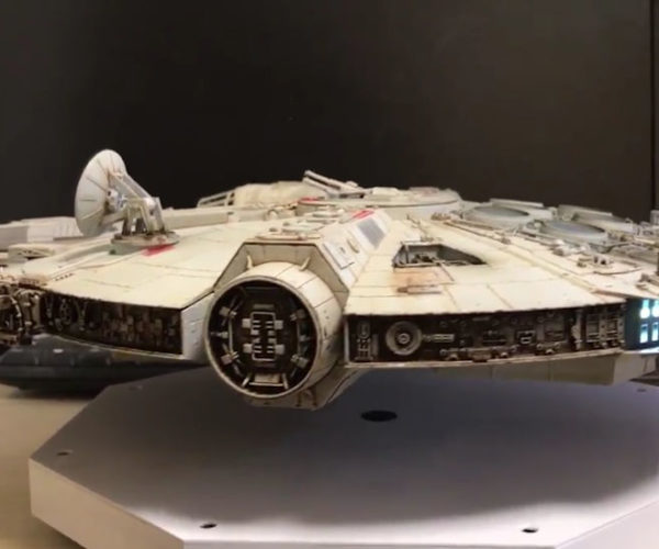 This Guy Made a Levitating Millennium Falcon