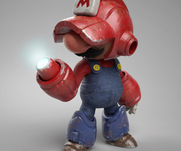 This Mario Mega Man Mashup Is Marvelous