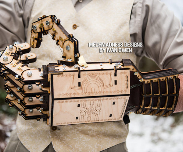 These Mechanical Wooden Hands Are Simply Awesome