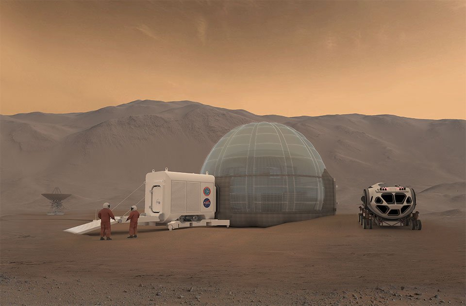 NASA Exploring The Possibility To Use Ice Shelters On Mars