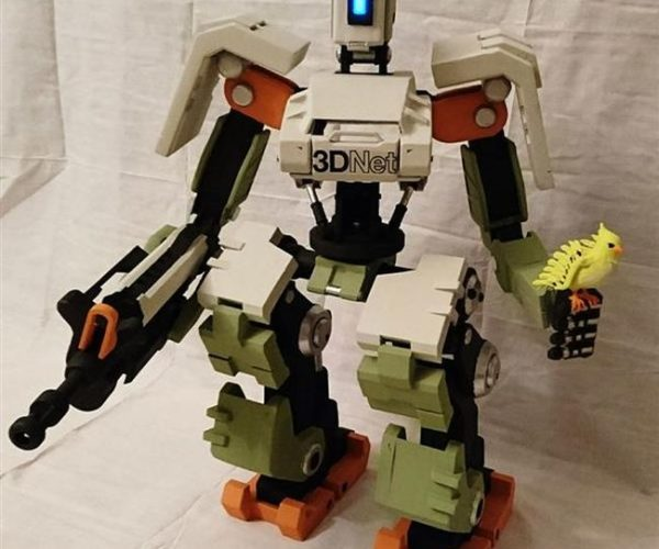 DIY Overwatch Bastion PC Could Use a Working Gatling Gun
